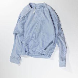 Fabletics Monica Cinch Waist Pullover Sweatshirt S